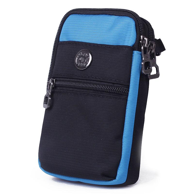 手机腰包男穿皮带手机套防水户外运动腰带多功能手机袋竖款挂包女