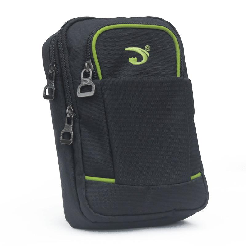 大容量户外腰包男多功能旅游零钱挂包女大屏7.9寸手机包穿皮带