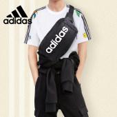 Adidas阿迪达斯腰包男士女小包 多功能健身运动包斜挎包