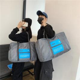 旅行包男行李袋大容量手提行李包女短途旅行袋收纳袋可折叠拉杆包