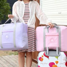 旅行大容量衣物包行李袋可套拉杆短途包旅行袋收纳袋斜挎单肩手提