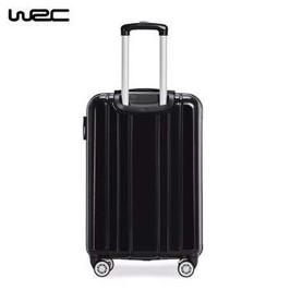 旅行箱万向轮拉杆箱行李箱女男20密码箱包 黑色 20寸