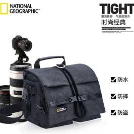 国家地理相机包单反单肩摄影包专业200d800d80d70d便携帆布男女包