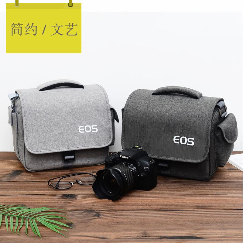 佳能相机包 单反单肩微单摄影EOS90D70D 200D二代850D M50M6男6D2