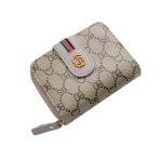 女士新款多功能折叠简约大容量百搭短款卡包小钱包