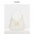 PEDRO纯色腋下包女士插带饰通勤单肩手提包PW2-35060006