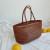 【A级头层牛皮】dragon法国小众包包手工真皮编织包菜蓝子托特包