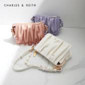 CHARLES&KEITH夏新品CK2-20270749果然甜女褶皱腋下包