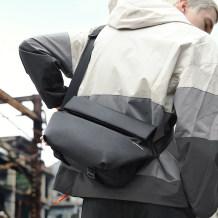 斜挎包男士潮牌机能单肩包大容量男包夏季胸包