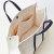 上班帆布包 手提职业办公大学生笔记本书包大容量公文包