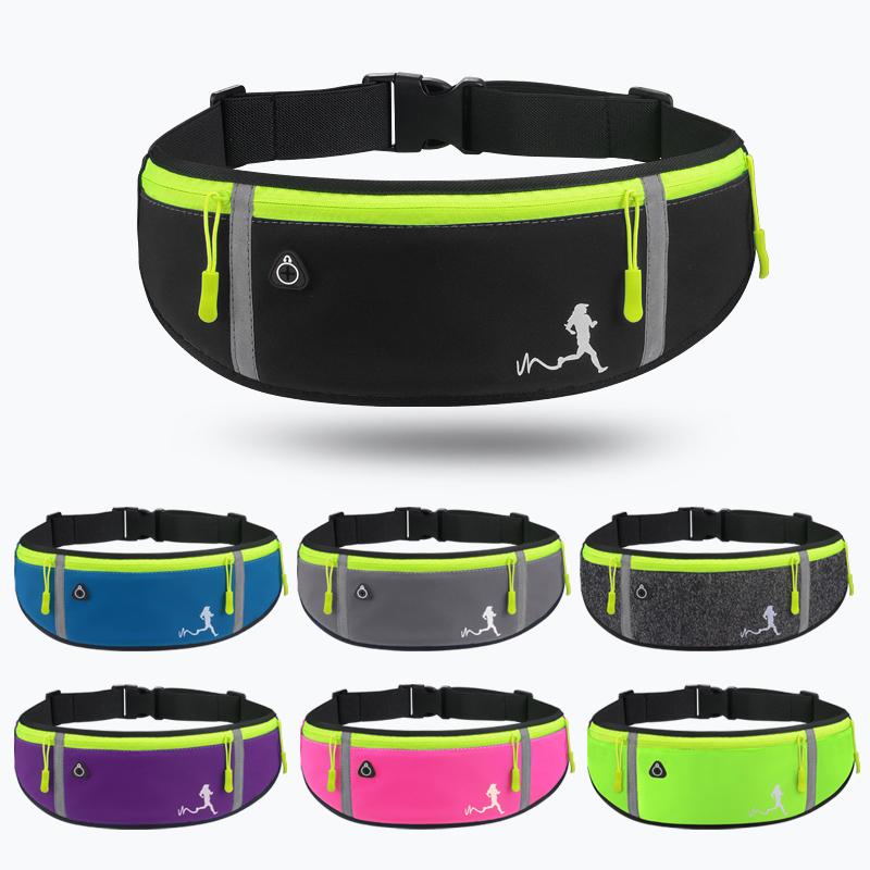 运动腰包跑步手机包男女多功能户外贴身防水迷你小腰带包