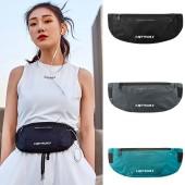 运动腰包 女夏跑步手机包健身款小包薄款腰带小装备袋