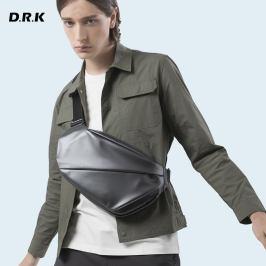 杜尔克男士背包休闲单肩包大容量多功能运动防水腰包
