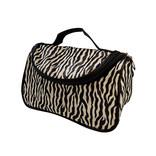 ins斑马纹化妆包 大容量旅行便携洗漱包防水收纳袋