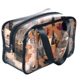 化妆包女便携 大容量旅行洗漱包防水收纳包袋