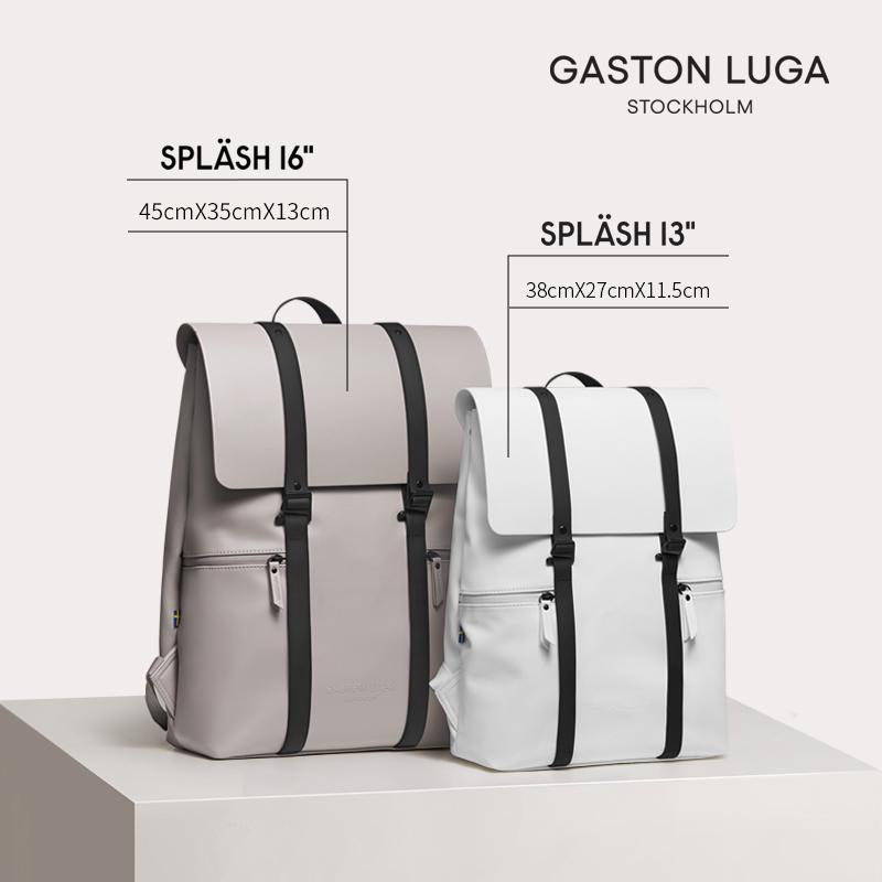 Gaston Luga电脑双肩包 百搭旅行背包
