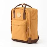 帆布共和国双肩包大容量简约时尚百搭撞色书包