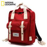 国家地理背包女运动户外时尚双肩包 旅行防水书包