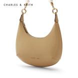 CHARLES&KEITH珍珠CK2-40151047名媛手提腋下饺子包