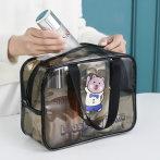 便携化妆包小号透明大容量旅行收纳袋随身洗漱品包