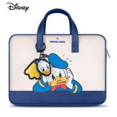迪士尼正品 笔记本电脑包女适用华为苹果联想小新小米戴尔卡通内胆包