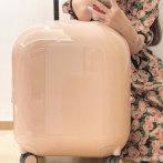 不莱玫马卡龙行李箱 登机旅行箱子24寸密码箱