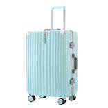 行李箱铝框款 加厚24寸拉杆箱子万向轮20小旅行密码皮箱