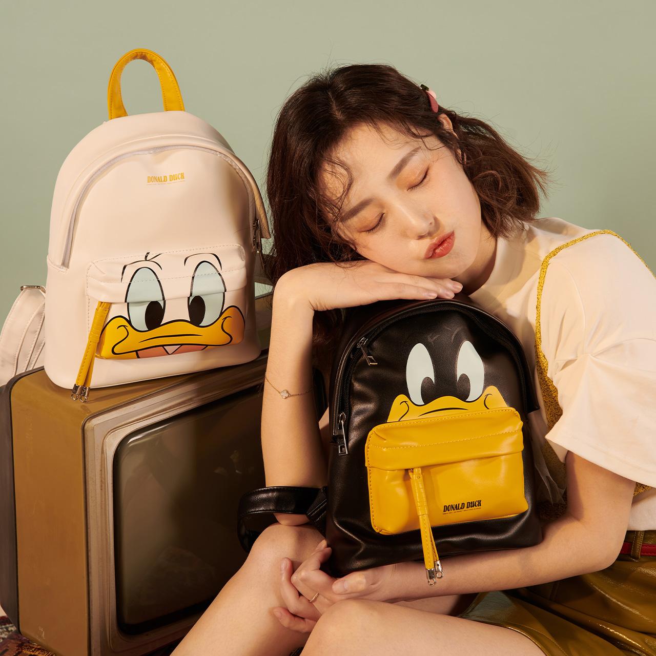 不莱玫迪士尼书包双肩包可爱背包
