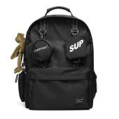 双肩包男士潮牌街头潮流大容量背包学生书包旅行包
