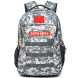 迷彩背包男女战术双肩包学生大容量多功能书包