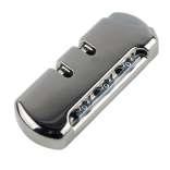 皮图腾旅行箱拉杆箱行李箱密码锁配件大全锁扣配