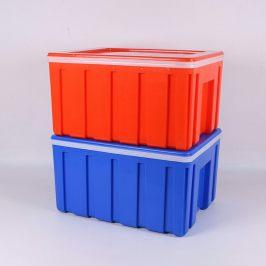 大号外卖箱便当送餐塑料保鲜保温箱冷藏泡沫箱60升