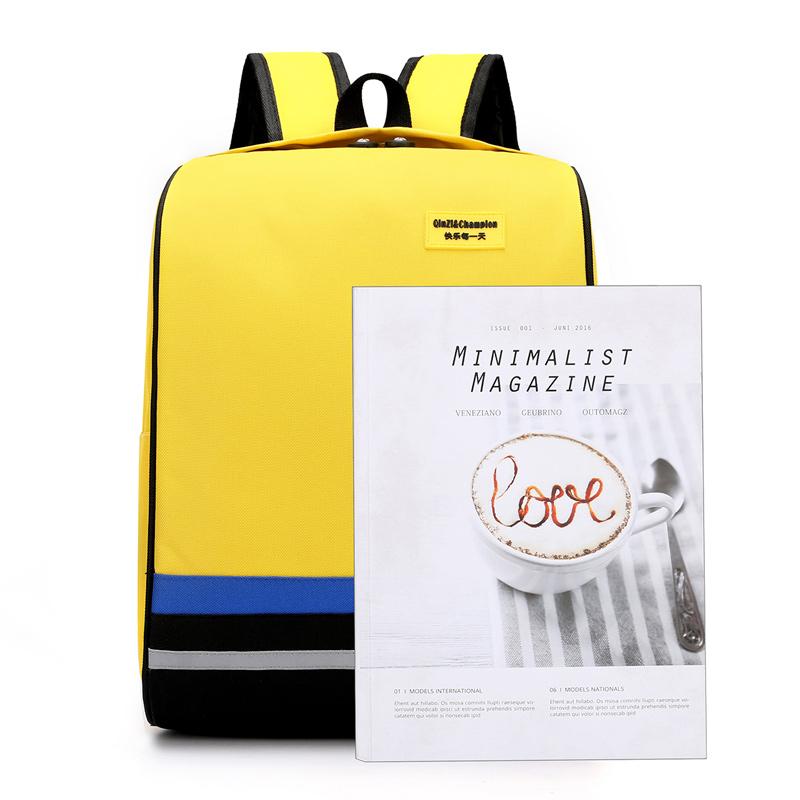 小学生书包定制logo儿童双肩背包