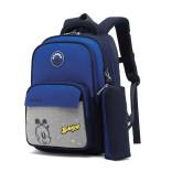 巴布豆儿童书包一到三年级小学生超轻护脊减负背包